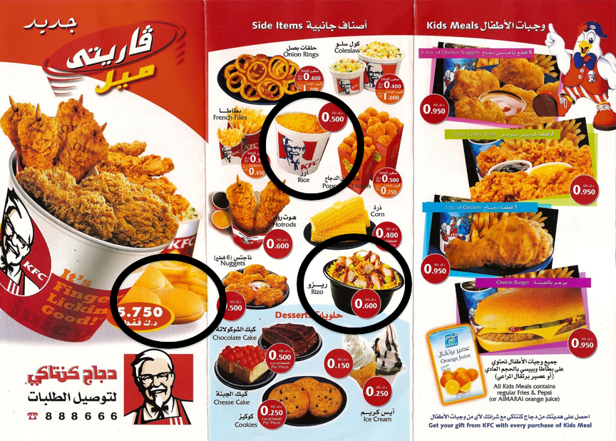 Fast Food Order Screen Name